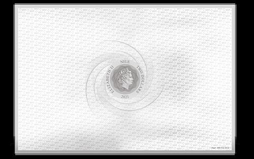 Mapa Tierra Media Moneda cARTEM COINS. Reverso