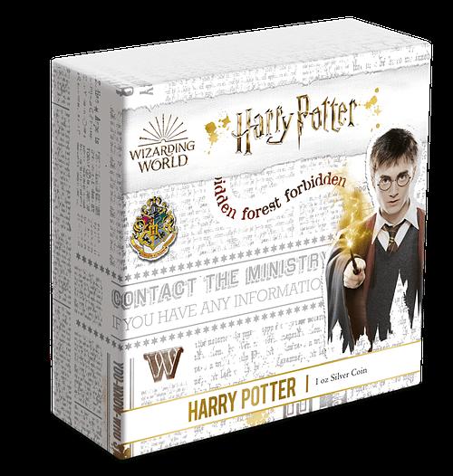 Caja exterior. Harry Potter. cARTEm COINS