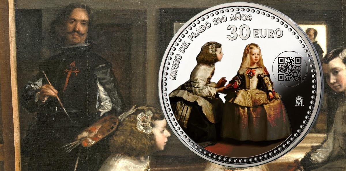 Las Menina Velázquez moneda