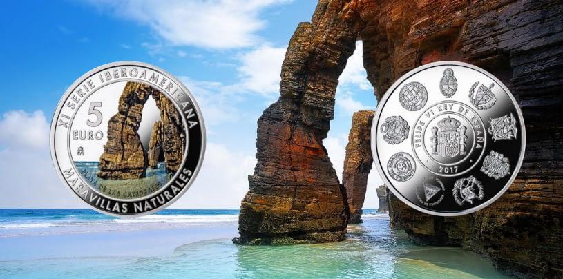 Playa-Catedrales-Moneda-MonedasOroPlata