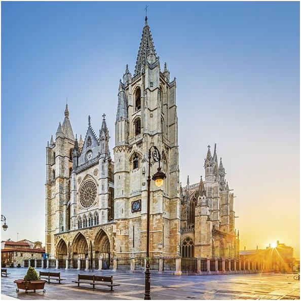 catedral-leon-MonedasOroPlata