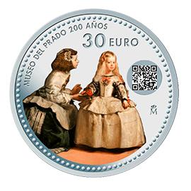 moneda-a-color-coleccionismo-las-meninas