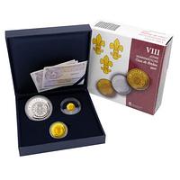 Estuche joyas numismáticas VIII 2017. Colección completa. cARTEm COINS