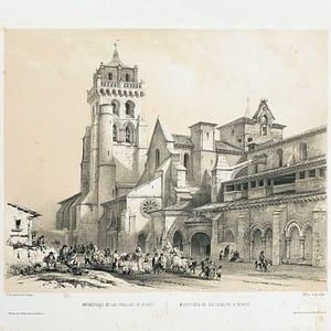 Monasterio de las Huelgas de Burgos. Burgos Artístico y Monumental. cARTEm COINS