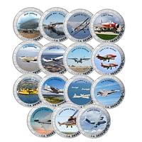 2º serie de la Colección de Historia de la Aviación cARTEm COINS