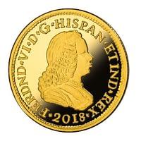 Anverso moneda de 1 escudo de oro. 150 años de la desaparición de los escudos. cARTEm COINS