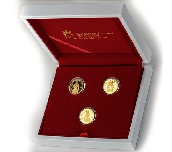 Estuche colección de oro. Bicentenario del Museo del Prado. cARTEm COINS