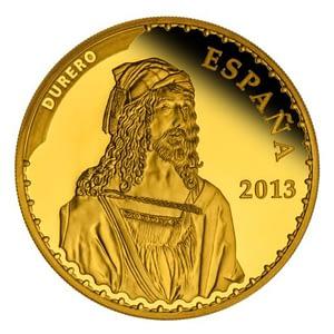 Anverso Colección de oro Tesoros de los museos españoles Alberto Durero 8 escudos de oro. cARTEm COINS.
