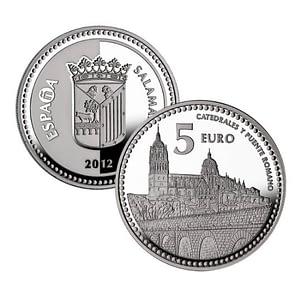 Caras. Capitales de Provincia y Ciudades Autónomas – Salamanca – 4 reales de plata. cARTEm COINS.