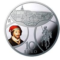 Anverso. Serie Europa 2019. Renacimiento. 8 Reales de plata. cARTEm COINS
