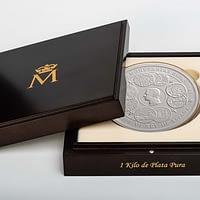 Moneda 1 kilogramo de plata pura Unidades Monetarias España 2019. Estuche. cARTEm COINS