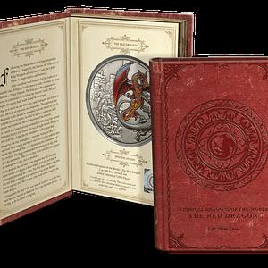 Moneda y estuche moneda de plata Red Dragon. cARTEm COINS