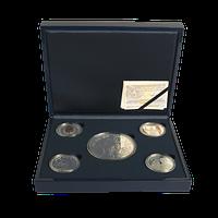Colección completa de plata. 50 aniversario de S.M. el Rey Felipe VI.