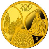 Moneda Serie Europa 2020 Gótico. Anverso. cARTEm COINS