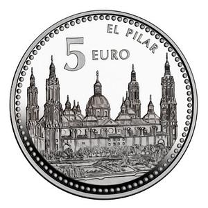 Anverso Capitales de Provincia Zaragoza. cARTEm COINS
