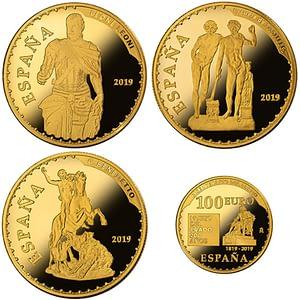 Colección de monedas de oro. Bicentenario del Museo del Prado. cARTEm COINS