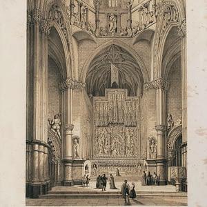 Altar Mayor de la Seo (Zaragoza) - Aragón Artístico y Monumental. cARTEm COINS