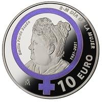 Reverso Moneda 8M Emilia Pardo Bazán