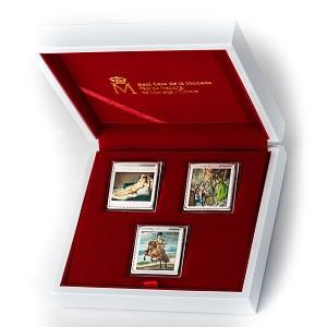 Colección de plata completa bicentenario del museo del prado