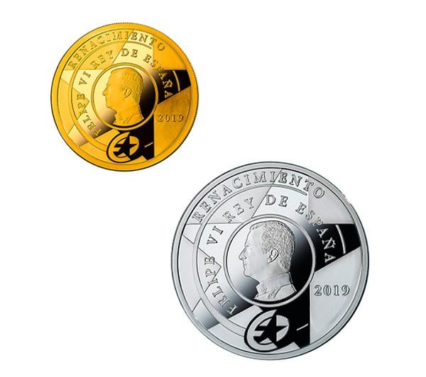 Reversos colección completa de monedas serie europa 2019 renacimiento